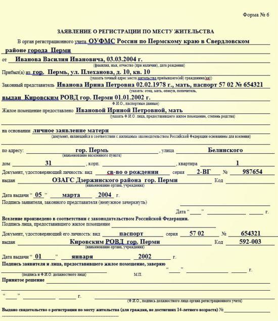 Пакет документов для завещания