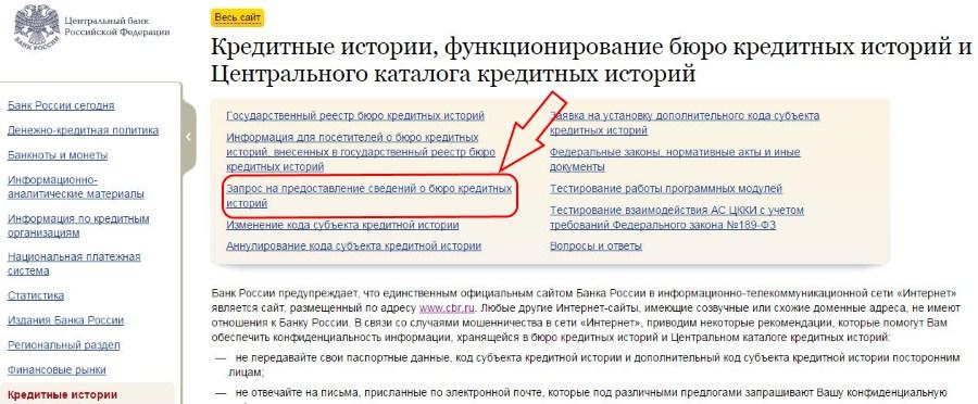 Все адреса бюро кредитных историй в Москве
