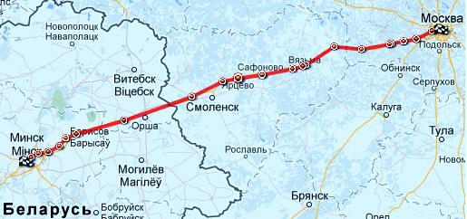 Граница с белоруссией на машине из москвы